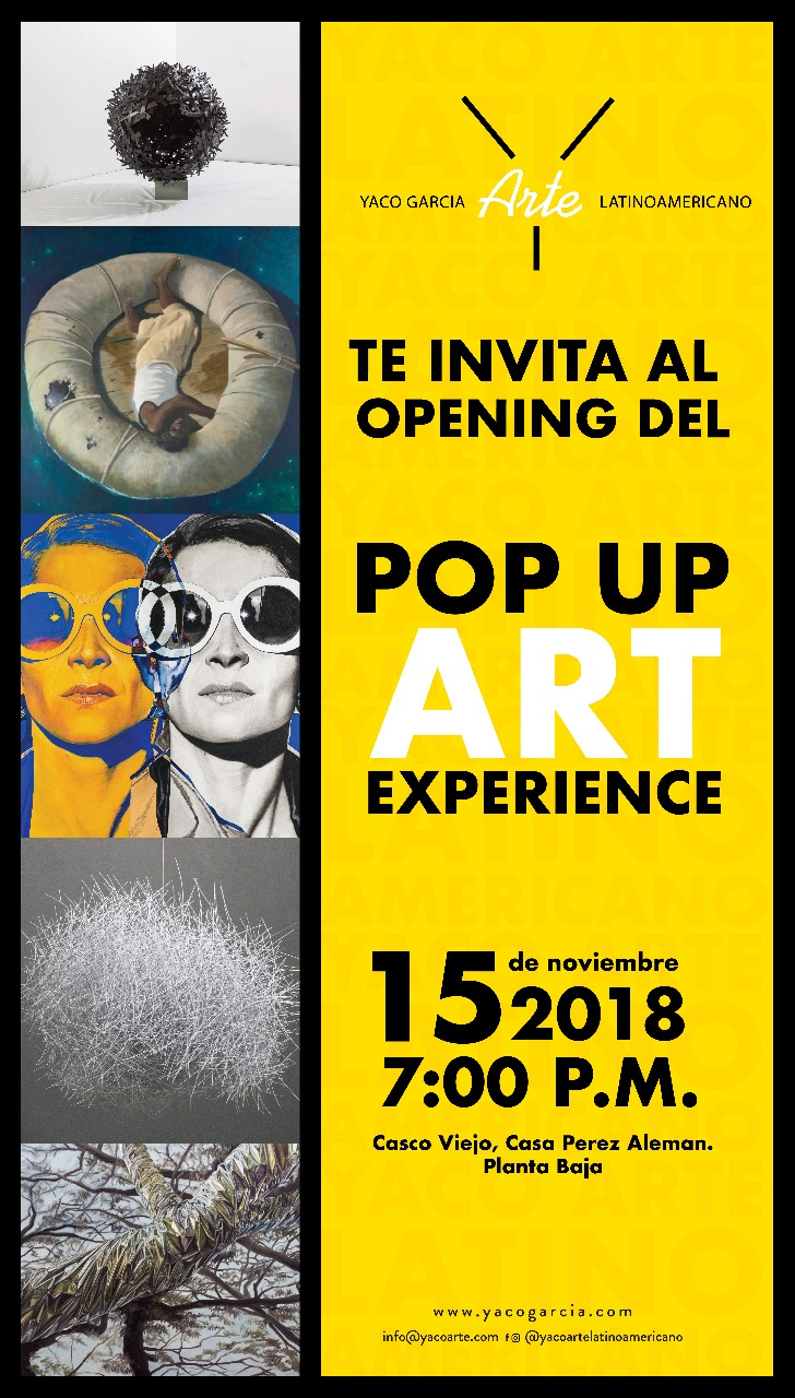 POP UP ART EXPERIENCE