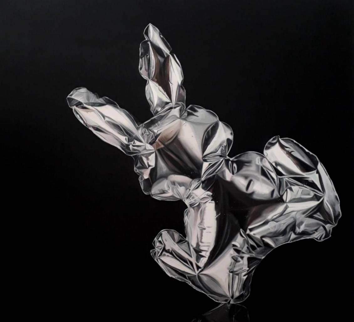 Mr.Rabbit, 150 x 160 cms, Óleo sobre lienzo, 2018